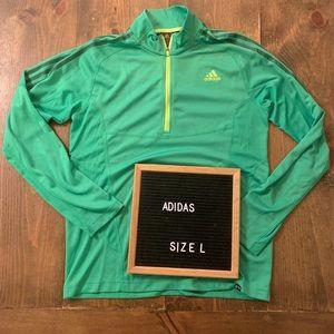 Adidas 3/4 zip- Cocona Technology